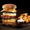 Ψημένο Real Burger 100% Μοσχάρι 115g.